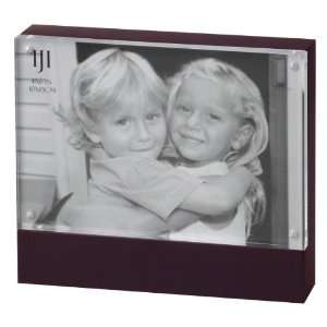 Wood Block Frame (Black) Holds One 4x6 Picture Home & Kitchen