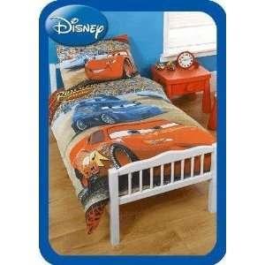 Disney Cars Limit Panel Junior Cot Bed Duvet Quilt Cover Set