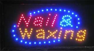 Super Bright LED Neon Light Hair Salon Nail & Waxing 28