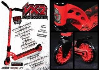 Stunt Scooter MGP MADD GEAR PRO Roller rot schwarz Neu 9334052024433