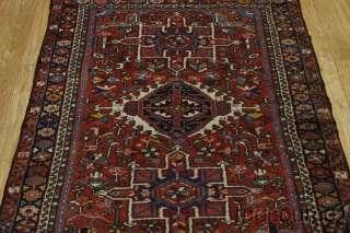 ANTIQUE TRIBAL RUNNER 3X9 GHARAJEH KARAJEH PERSIAN ORIENTAL AREA RUG