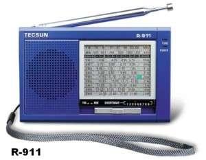 TECSUN FM SW 11 BAND RADIO selectivity & low noise D109