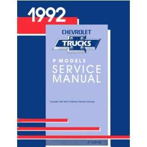 1992 CHEVY P SERIES TRUCK Shop Service Repair Manual