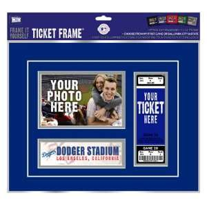 Los Angeles Dodgers Game Day Ticket Frame Frame It
