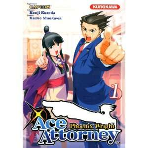 Phoenix wright : ace attorney, Tome 1 (French Edition): Kazuo Maekawa