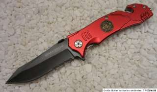 Böker Magnum Messer Fire Fighter Rettungsmesser Automesser