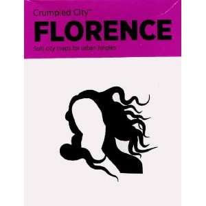 Crumpled City Map Florence (9788897487081) Palomar Books