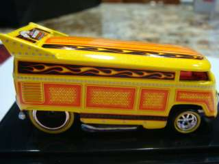 HOT WHEELS 1/64 VW DRAG BUS CEREMONY / DINNER 1/250 2012 LAS VEGAS