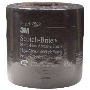 3M Scotch Brite MX SR Ultra Fine Grit, 8 x 20 Feet, Silicon Carbide