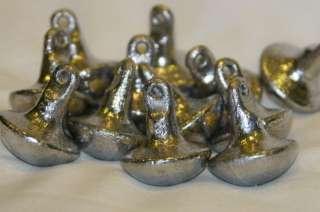 12 Duck Decoy Weights Goose Mushroom Style Anchors 6 oz
