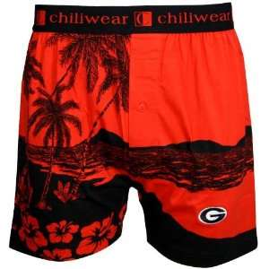 Georgia Bulldogs Mens Boxer Shorts: Sports & Outdoors