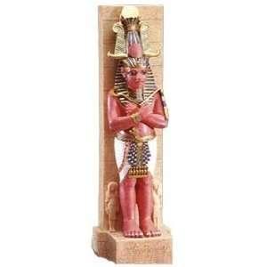 Pillars of Temple of Ramesses III Egyptian Statue