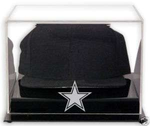 DALLAS COWBOYS LOGO CAP DISPLAY CASE HAT HOLDER