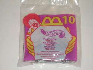 McDonalds Hot Wheels 1999 Happy Meal Maximizer #10 NIP