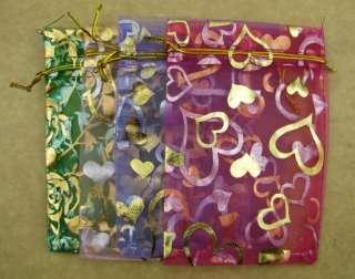 10pcs pouch Organza Gift Bags Wedding Favor 12X9CN G002