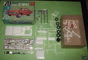 AMT 1970 Chevy Impala 3 in 1 Original Issue 70 Unbuilt |