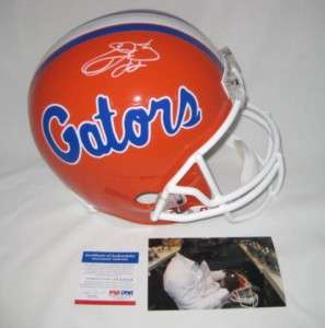EMMITT SMITH signed FLORIDA GATORS Full Size Helmet PSA
