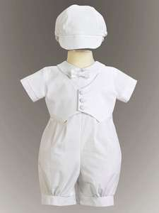 LDS Blessing Outfit Christening Suit Baptism Boys NWT