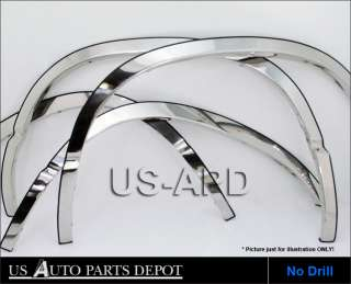 85 94 Chevy Astro Van/GMC Safari Chrome Fender Trim