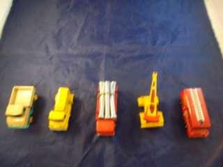 Lesney Matchbox Miniature Cars Carrying Case Set Includes 37 Cars Dump