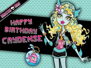 LAGOONA BLUE Edible Picture CAKE Image Icing Toppers Monster High
