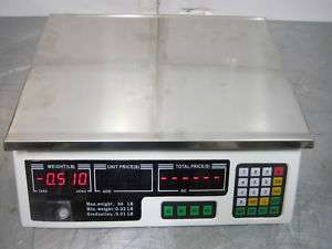 Digital Price Computing Scale Max Weight 66 Lbs.
