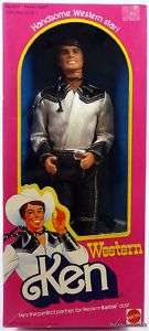 BARBIE WESTERN KEN DOLL #3600 NRFB MINT CONDITION 1980