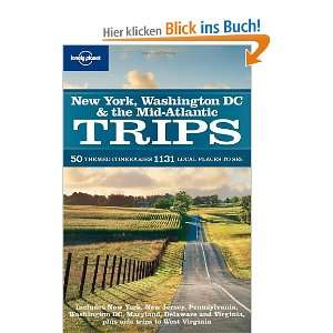 New York Washington DC and the Mid Atlantic Trips (Lonely Planet Trips
