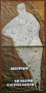 DELIRIUM   LO SCEMO E IL VILLAGGIO ITALY ITALIAN PROG ORIG 1972 LP