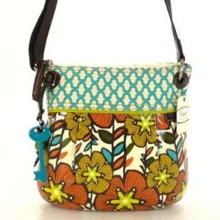 Fossil Key Per Crossbody Floral ZB4426 220 Damen Handtasche Tasche