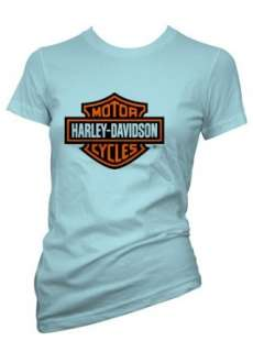 Coole Symbols & Logos T Shirt HARLEY DAVIDSON MOTOR CYCLES in