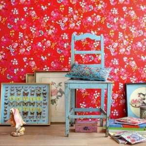 Romantische Tapete Chinese Rose in Rot PIP Studio: .de: Baumarkt