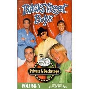 The Boys in the Studio [VHS] Backstreet Boys  VHS