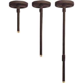 Progress Lighting Antique Bronze Stem Kit Accessory for P5741 Cylinder