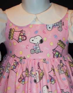 The Snoopy fan in your life will LOVE this dress I love the fabric