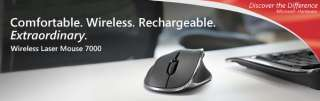 Microsoft KXA 00001 Wireless Laser Mouse 7000   Mac/Windows Compatible