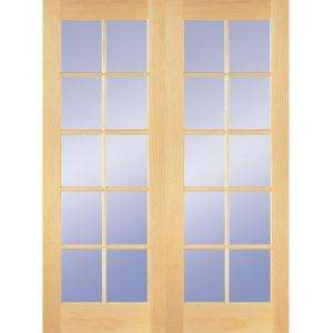 Interior french double doors 5 foot bevelled glass for Five foot french doors