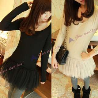 New Korean Young Girls Lovely Leisure Style Cute Lace Short Sleeve T