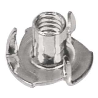 Hillman 10 24 X 3/32 In. Coarse Stainless Steel Pronged Tee Nuts (2