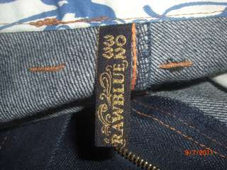 RAW BLUE Denim Jeans {2} (Size 30X32) Deadly Beauty theme, see