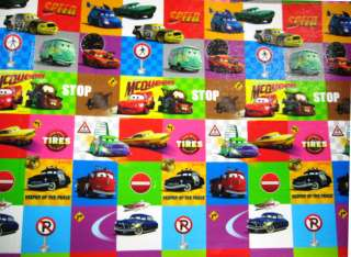 SLIP parklon baby boy kids play mat rug Disney Pixar Car Deisgn size M