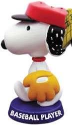 Peanuts Snoopy Premium Bobblehead Figurine Baseball