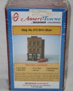 Gauge Ameri Towne #872 Bills Store Kit