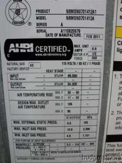 ComfortMaker N8MSN 66k BTU 80% Nat Gas 1 Stage 1200 CFM Furnace