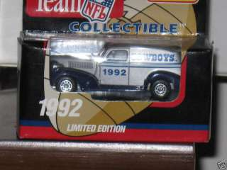 1992 Dallas Cowboys Matchbox Football WRC Truck |