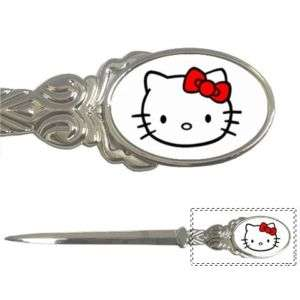 Hello Kitty Silver Metal Chrome Letter Opener New #1