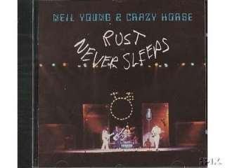 NEIL YOUNG AND CRAZY HORSE**RUST NEVER**CD 075992724920