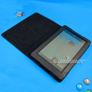 Leather Case Skin Cover for  Kindle Fire 7 Tablet +LCD Film