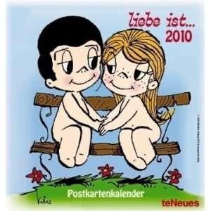 Liebe ist 2010. Postkartenkalender: .de: Kim Casali: Bücher