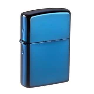 Original Zippo Sapphire  Saphir Blau  Classic Regular